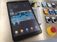 Tablet da 10'' remotabile per il controllo e la programmazione della macchina in wifi