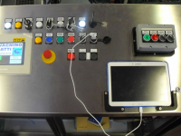 Pannello centralizzato per la gestione delle stazioni adesive