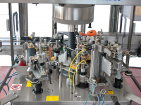 Additional wet glue labelling units, thus creating combined machines