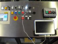Panneau centralisé pour la gestion des postes pour étiquettes autocollantes