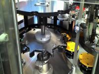 Étoiles d'entrée et de sortie multi-formats, adaptées aux bouteilles cylindriques présentant un diamètre allant de 60 mm à 110 mm de diamètre.